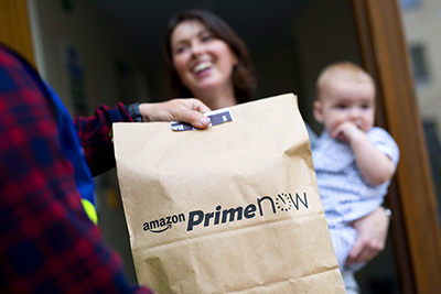 Amazon Prime launches 1-hour delivery in London